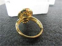 Ladies KORITE Ammolite Gemstone Ring