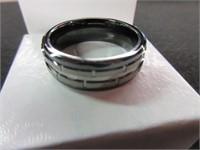 Gents Tungsten Ring