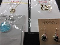 Lot of Ladies Pendant, Necklace and Earring Lot