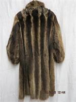 Raccoon coat