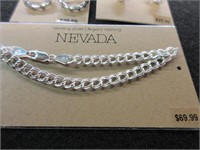 Lot of 3 Ladies Sterling Silver NEVADA Earrings an