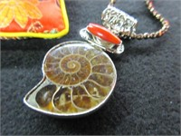 Ladies Sea Shell Inspired Necklace