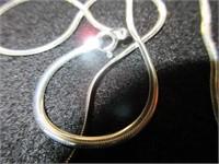 Gents Snake Link Necklace