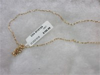 10K Gold Ladies Chain Necklace