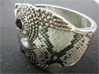 Ladies Snake Skin Inspired Bangle Bracelet