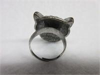 Whimsical Owl Inspired Ring
