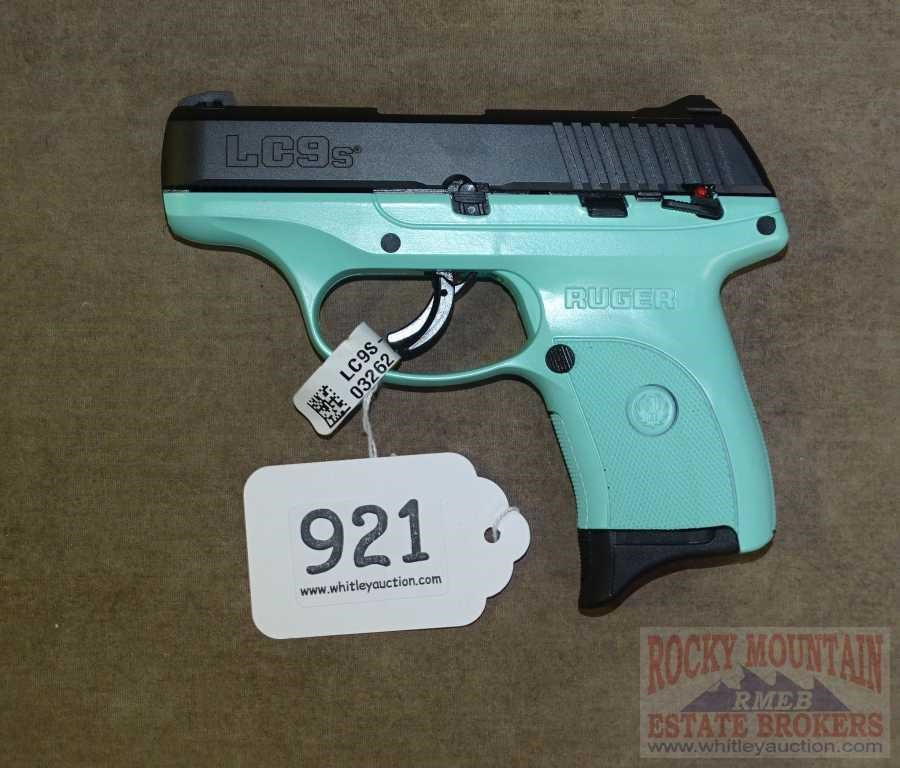 Ruger Tif Blue Lc9s 9mm Sub Compact