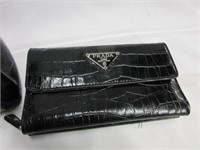 Ladies Designer PRADA Handbag and Wallet