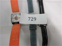 Grouping of 3 Designer Ladies Wrist Watches-