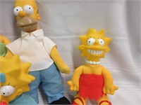 Lot of THE SIMPSONS Character Toys