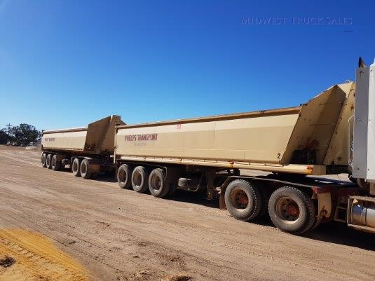 2000 Boomerang Tipper Trailer Midwest Truck Sales  - Trailers for Sale
