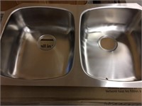 Brand New Double Undermount Stainless Sink