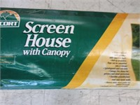 Escort Screen House with Canopy