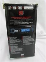 Dual 240 Watt Car Stereo