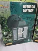 Pair of Outdoor Lanterns