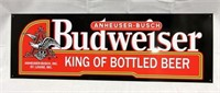 "BUDWEISER ""King of Bottled Beer"" Metal Sign"