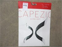 CAPEZIO ULTRA SOFT FOOTLESS TIGHTS BLACK SIZE S/M