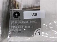 Pair of Grommet Panel Window Curtains