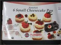 NON STICK SIX SMALL CHEESECAKE PAN