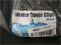 WINTER COVER CLIPS