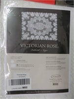 """VICTORIA ROSE TABLE CLOTH (60"""" X 84""""), REPLACEMENT"""