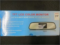 LCD COLOUR MONITOR (MIRROR CRACKED)