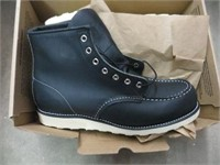 RED WING BOOT BLACK SIZE 10