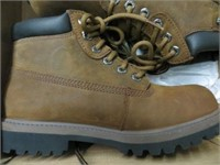 SKECHERS BOOT BROWN SIZE 8.5