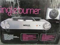 NESCO SINGLE BURNER