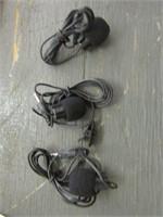 THREE SMALL MICROPHONES