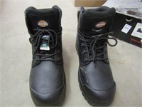 DICKIES BOOT BLACK SIZE 9.5