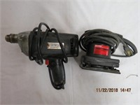 "Craftsman palm sander 1/4 sheet and 3/8"" drill"