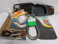 Mirror extenders, MTD belt 754-0404-5, splash