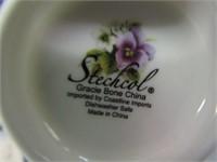 STECHOL - GRACE BONE CHINA - TEA SET
