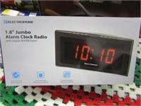"ELECTROHOME - 1.8"" JUMBO ALARM CLOCK RADIO"
