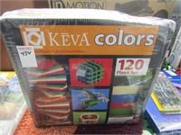 KEVA COLORS - PLANK SET (120)