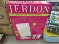 JERDON - LED LIGHTED MAKE UP MIRROR