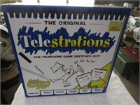 THE ORIGIAL TELESTRATIONS TELEPHONE GAME