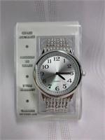 Chrome Quartz Watch