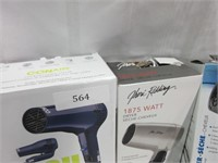 Lot of 3 Portable Hair Dryers