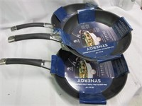 Lot of Three SYNERGY Non Stick Fry Pans