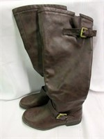 Ladies ZELLA Brown Tall Winter Boots- Size 8
