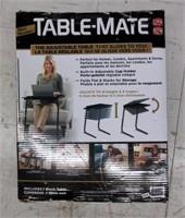 TABLE-MATE Adjustable Table- Black