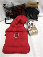 CANADIANA Small Dog Jacket, Booties and Leash