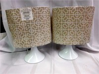 Pair of Small Decorative Lamps
