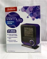 SUNBEAM Warm Me Personal Heater