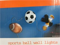 YOUR ZONE Sports Ball Wall String Lights