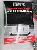 BACKYARD DRILL Barbeque Cover, Grill Mat and Hose