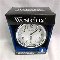WESTCLOX Quartz Alarm Clock
