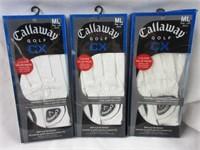 Lot of Calloway Golf Gloves